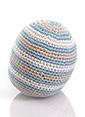 Pebble Pebble Organik Oyuncak-Top Mavi